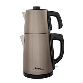 Tea Expert Deluxe Şampanya Çay Makinesi - Çelik Demlikli
